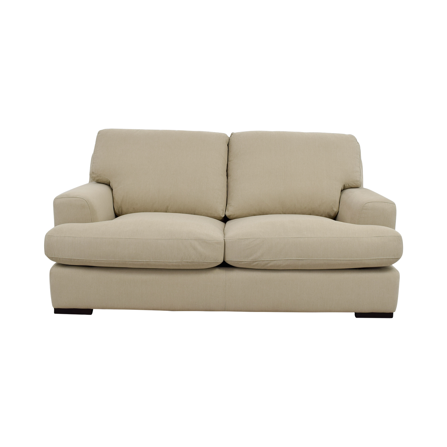 Stone & Beam Stone & Beam Lauren Down Filled Overstuffed Fawn Loveseat coupon