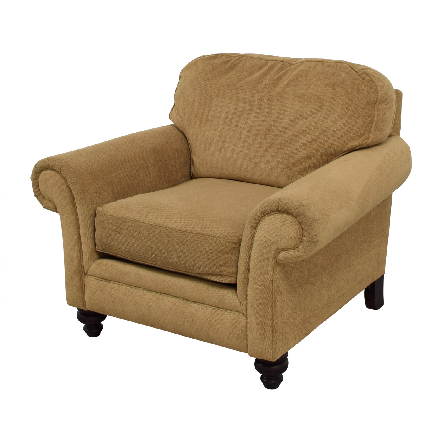 86 Off Broyhill Broyhill Mustard Yellow Accent Chair