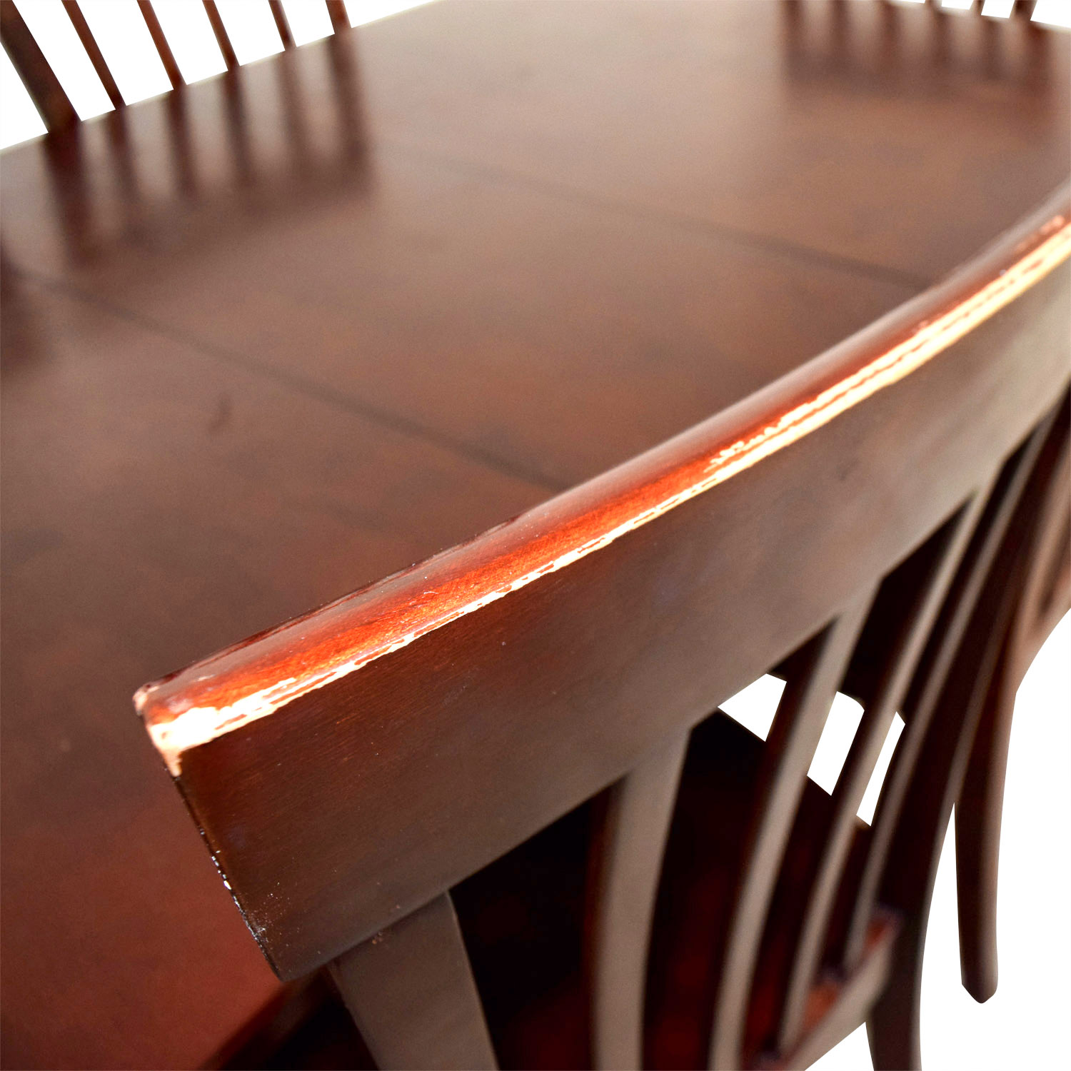 Bobs Furniture Bobs Furniture Dining Room Table and Chairs used