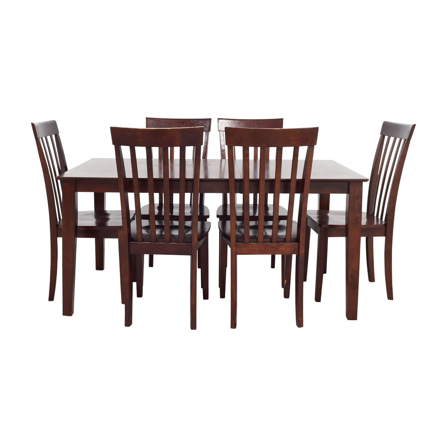 Bobs Furniture Dining Room Table And Chairs / Tables ...