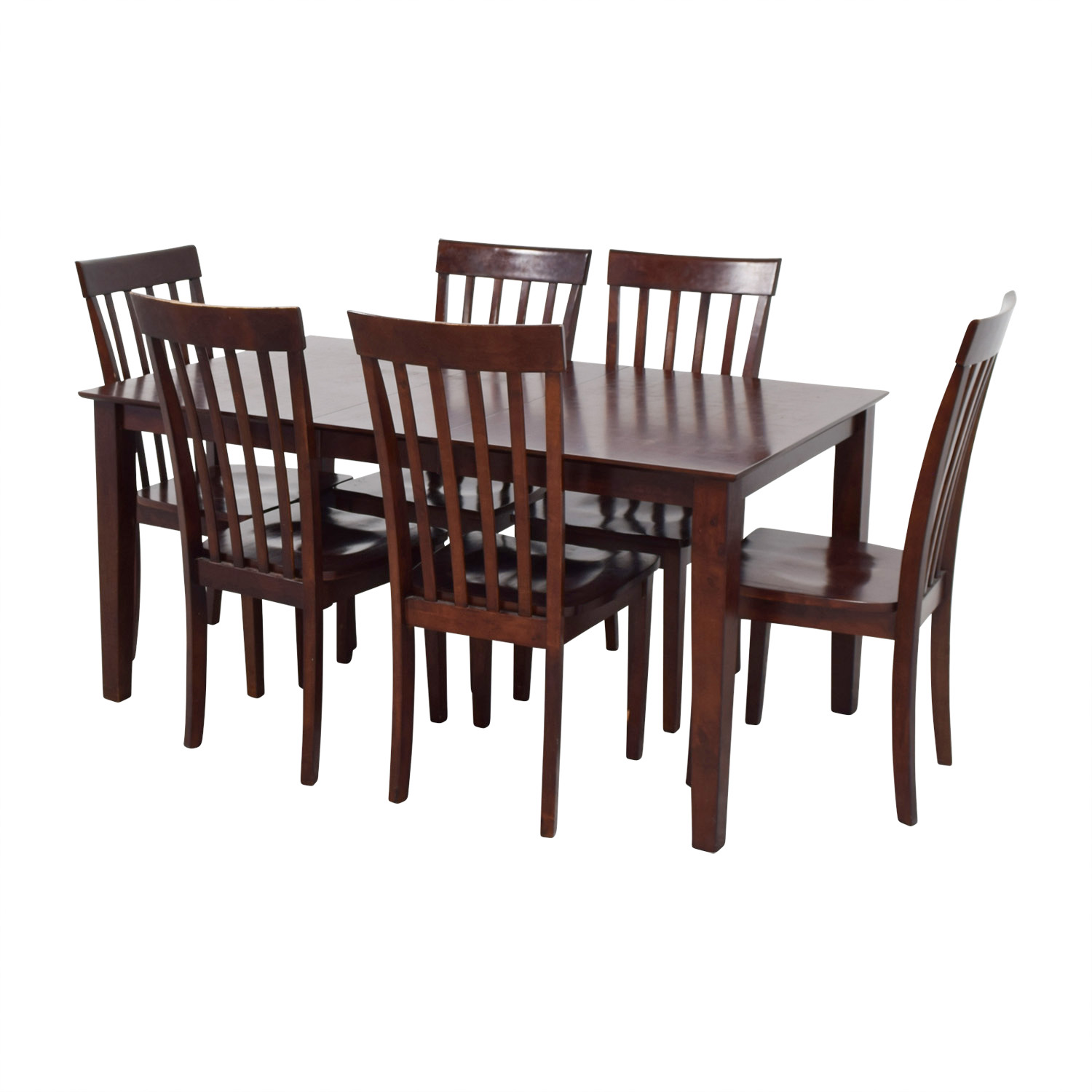 89 off bob 39 s furniture bob 39 s furniture dining room table and chairs tables. Black Bedroom Furniture Sets. Home Design Ideas