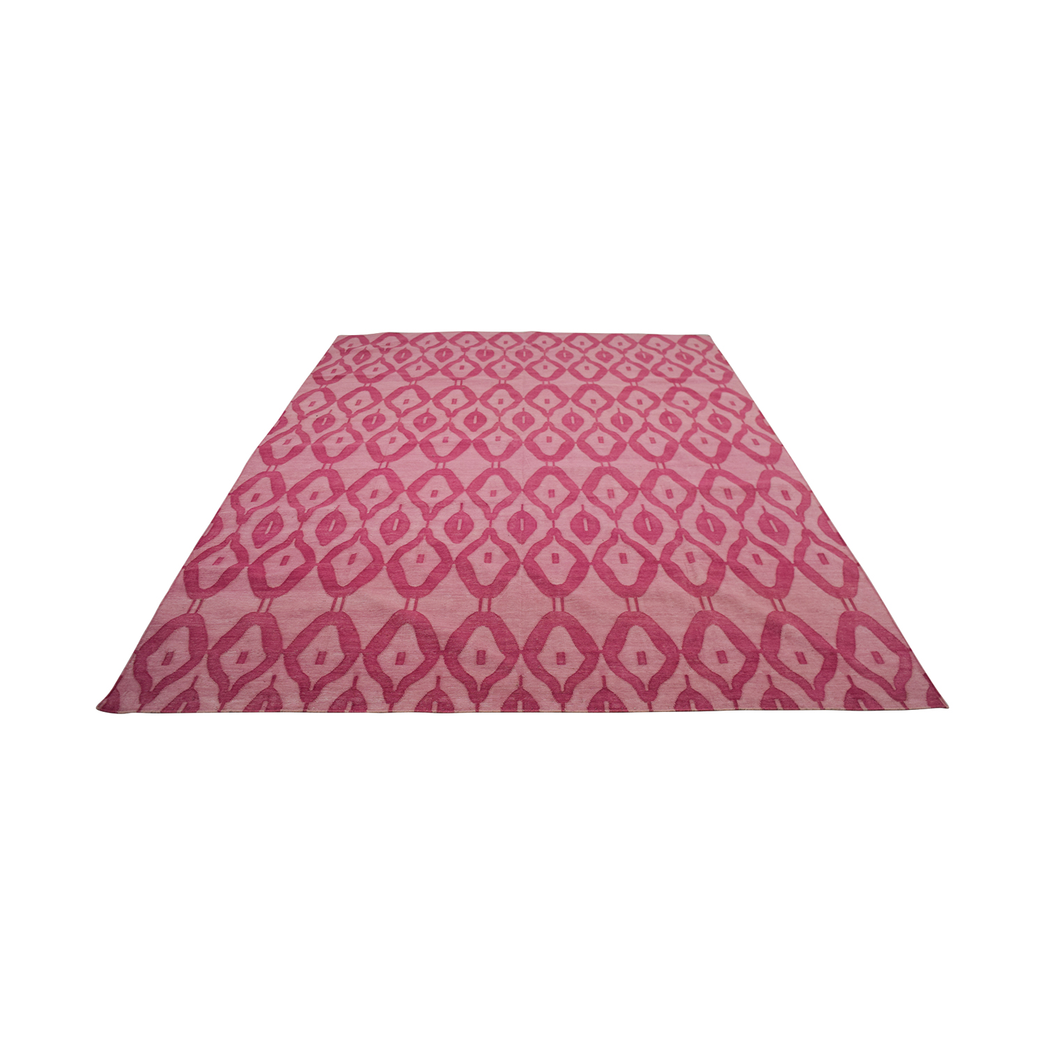 Obeetee Obeetee Pink Geometric Rug coupon