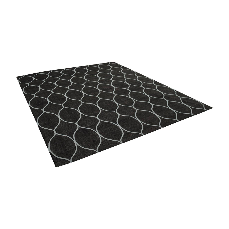 Obeetee Ryma Geometric Wool Rug / Rugs