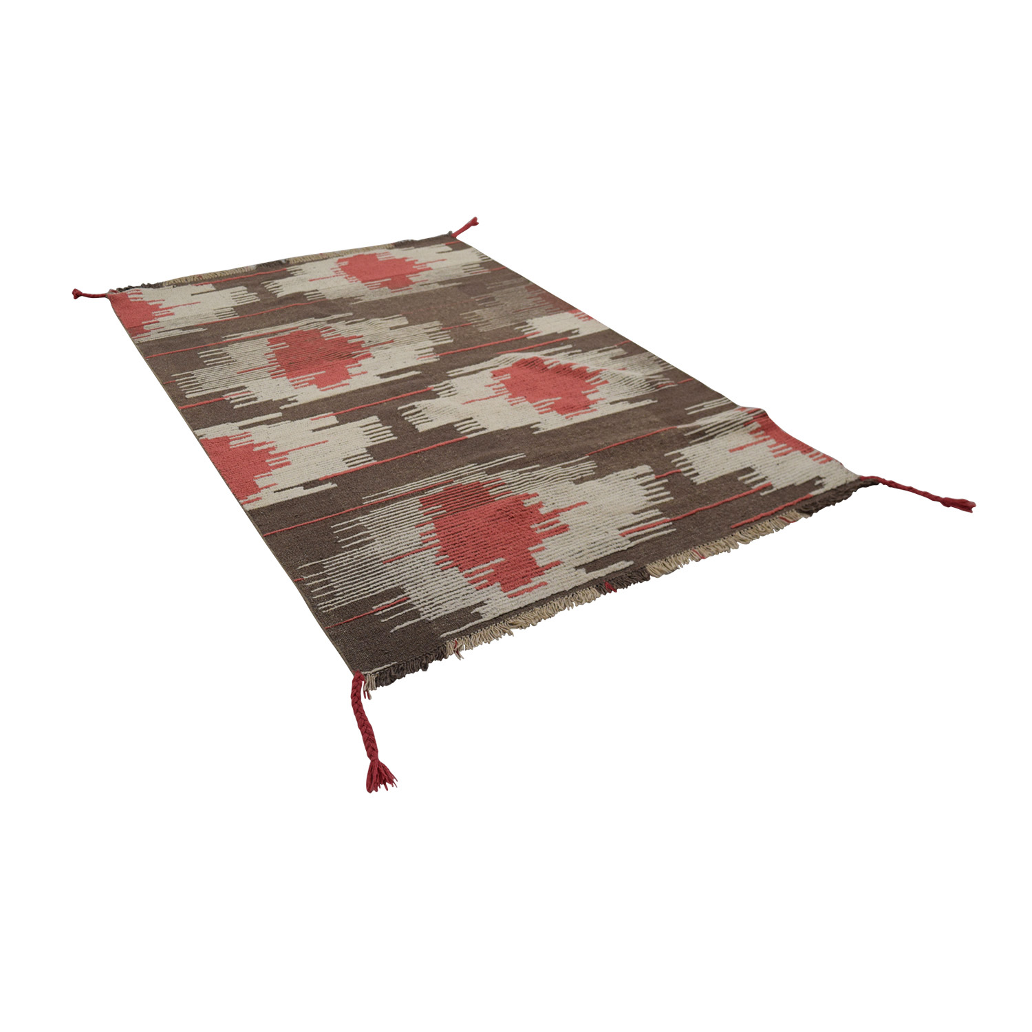 shop Obeetee Lotus Design Rug Obeetee Decor