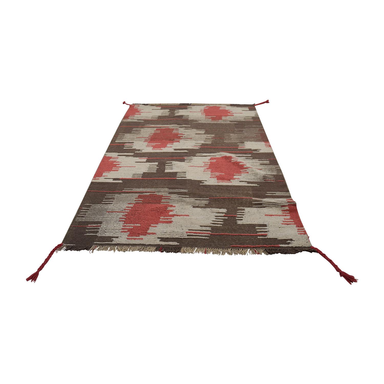 Obeetee Obeetee Lotus Design Rug used