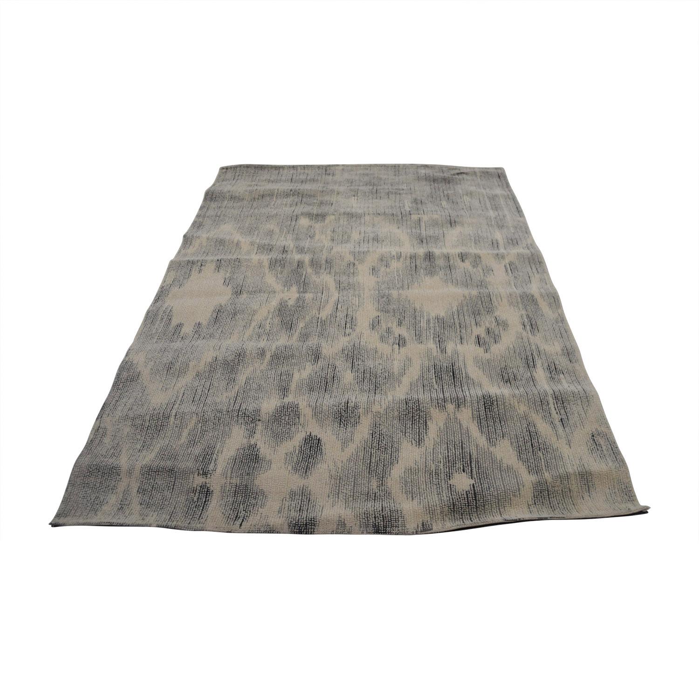 buy Obeetee Distressed Grey Geometric Design Obeetee