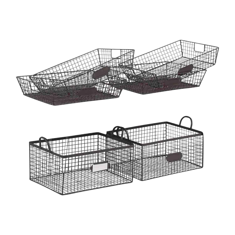 Etonnant ... Set Of Metal Office Baskets Price ...