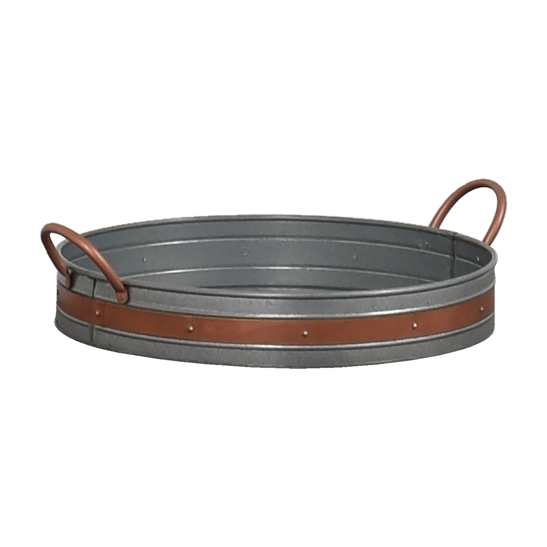 Round Metal Basket discount