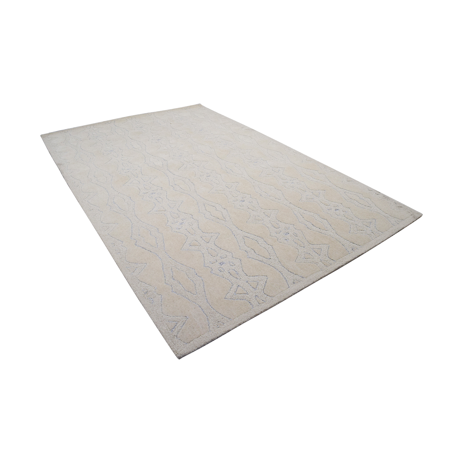 Obeetee Obetee Tan Hand Tufted Wool Rug nj
