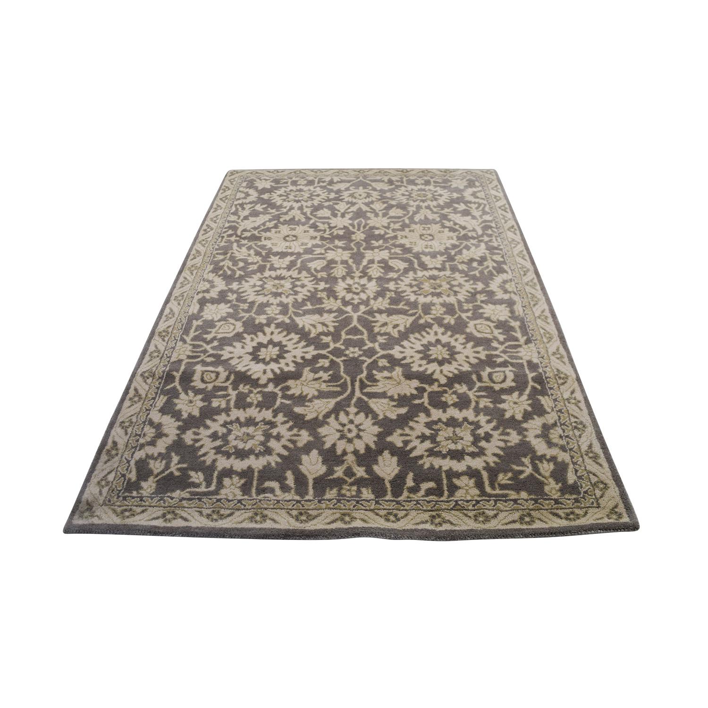 Obeetee Obeetee Floral Wool Rug Rugs