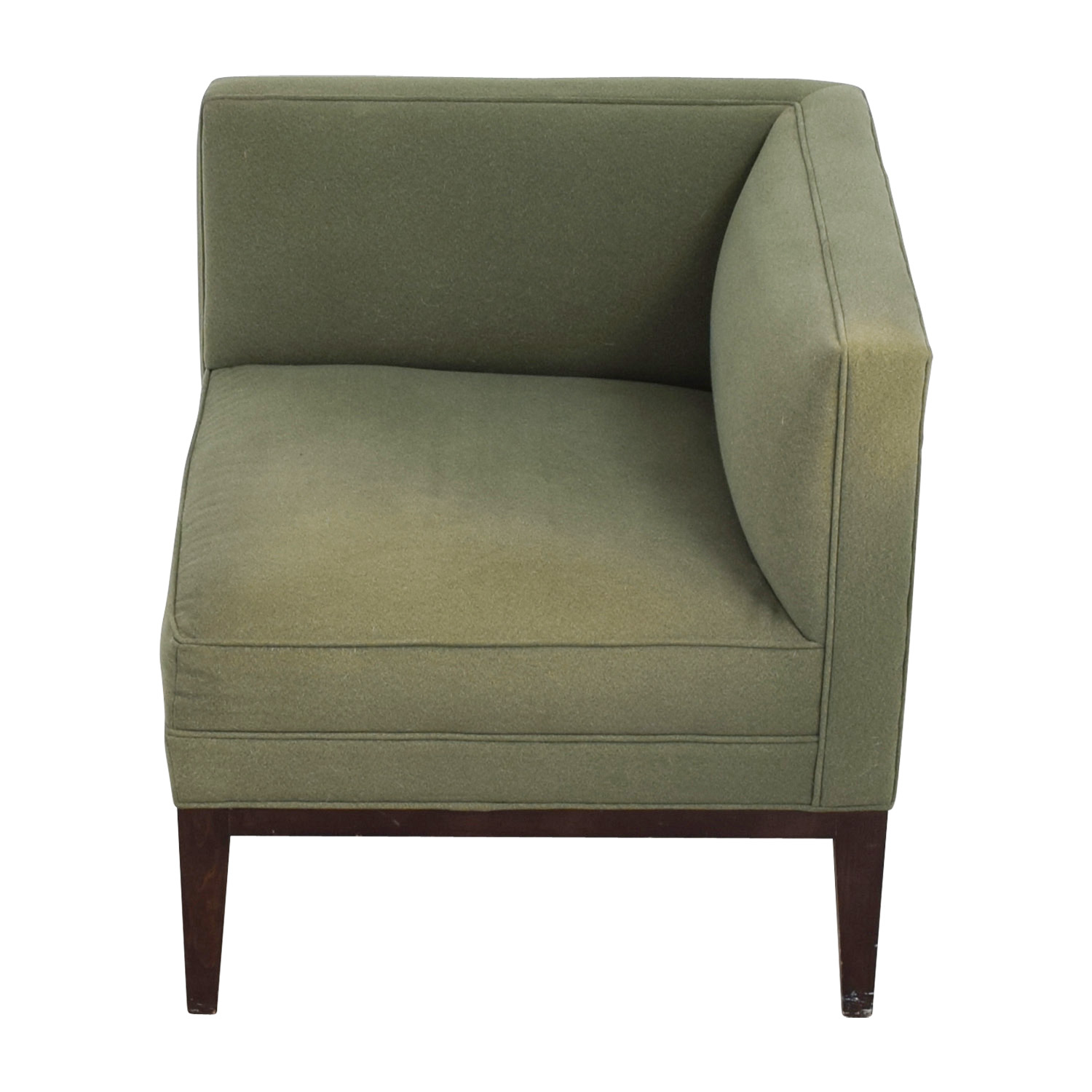 Mitchell Gold + Bob Williams Mitchell Gold + Bob Williams Sage Green Corner Accent Chair second hand