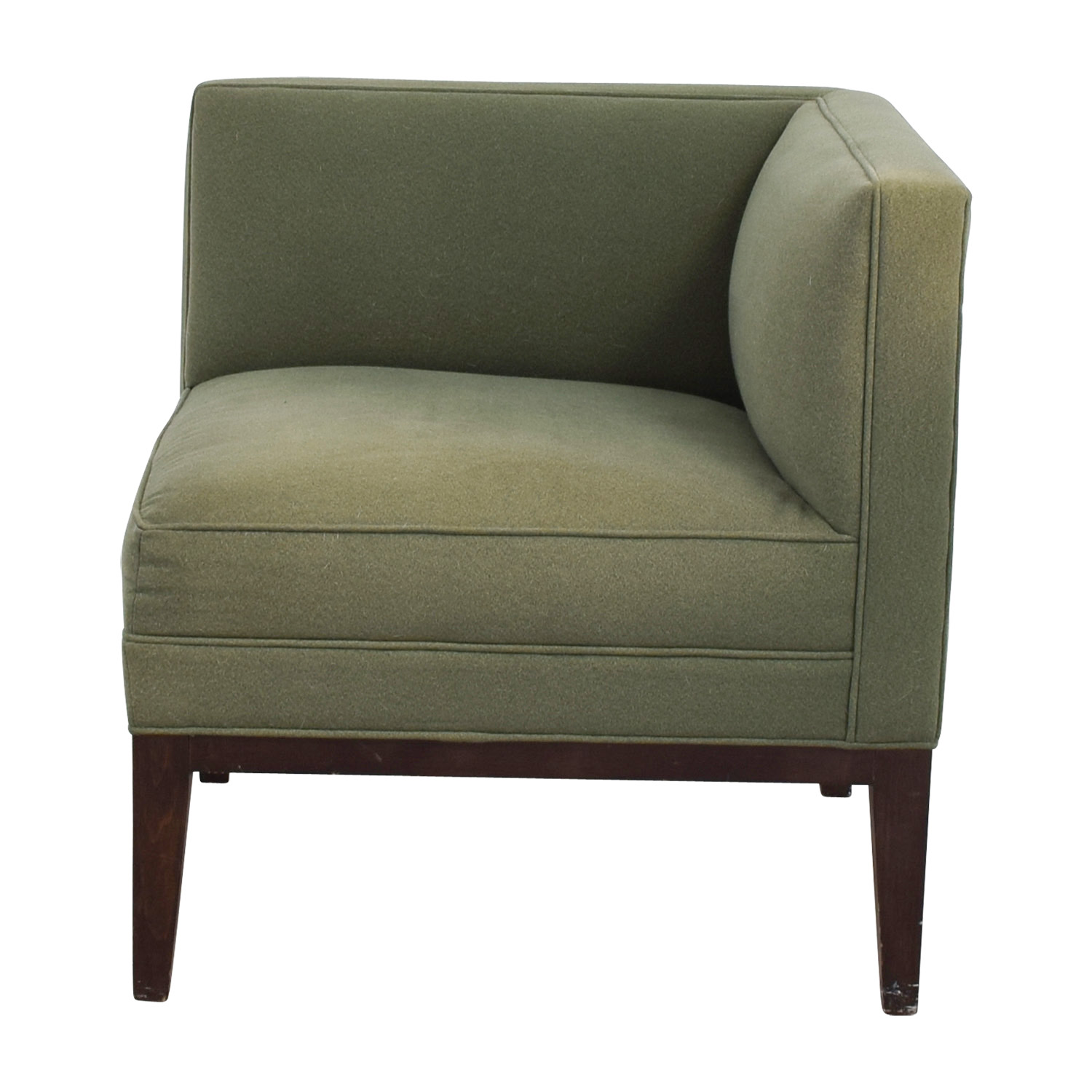 Mitchell Gold + Bob Williams Mitchell Gold + Bob Williams Sage Green Corner  Accent Chair Used ...