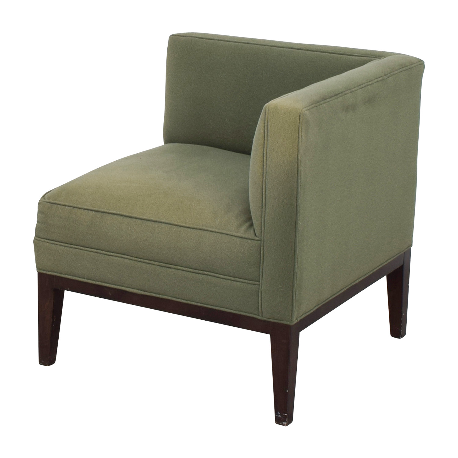 ... Buy Mitchell Gold + Bob Williams Sage Green Corner Accent Chair  Mitchell Gold + Bob Williams ...