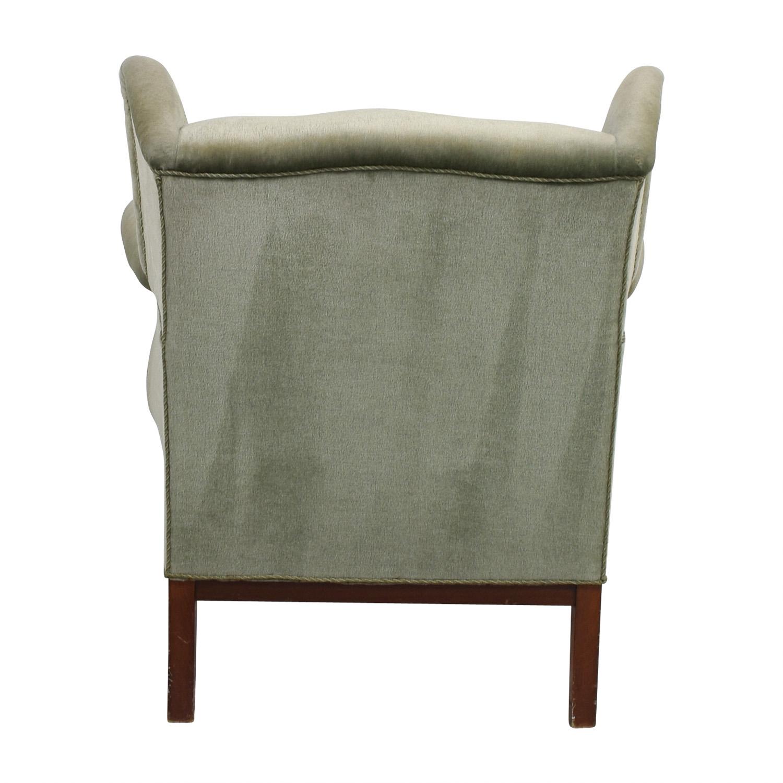 90 Off Scandanavian Green Club Chair Chairs