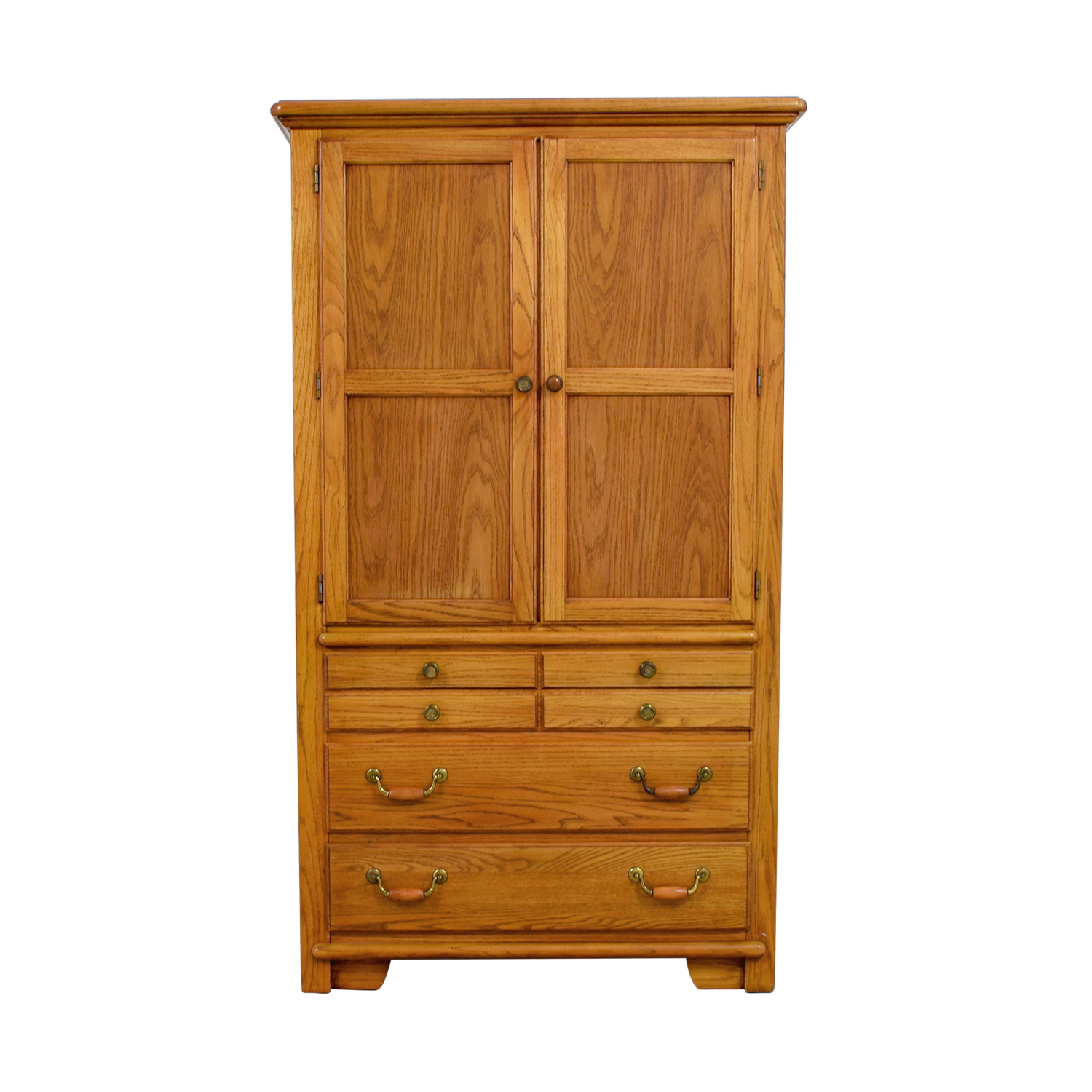 Thomasville Pine Wood Armoire Sale