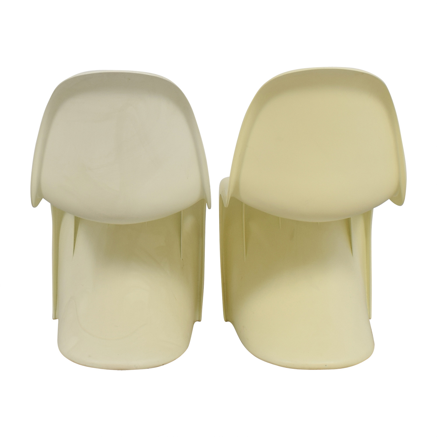 Vintage White Mod Chairs price