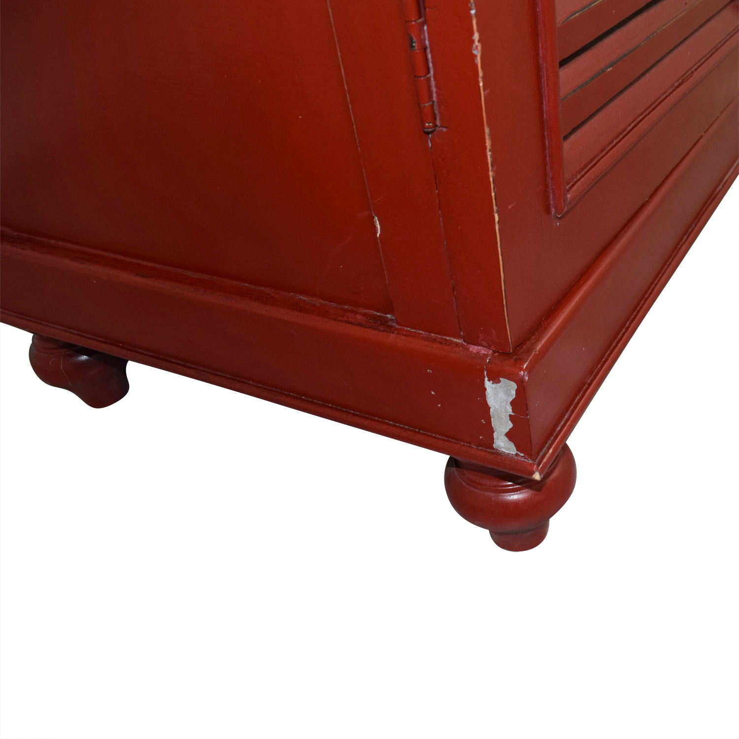 ... Red Armoire With Interior Shelving Sale ...