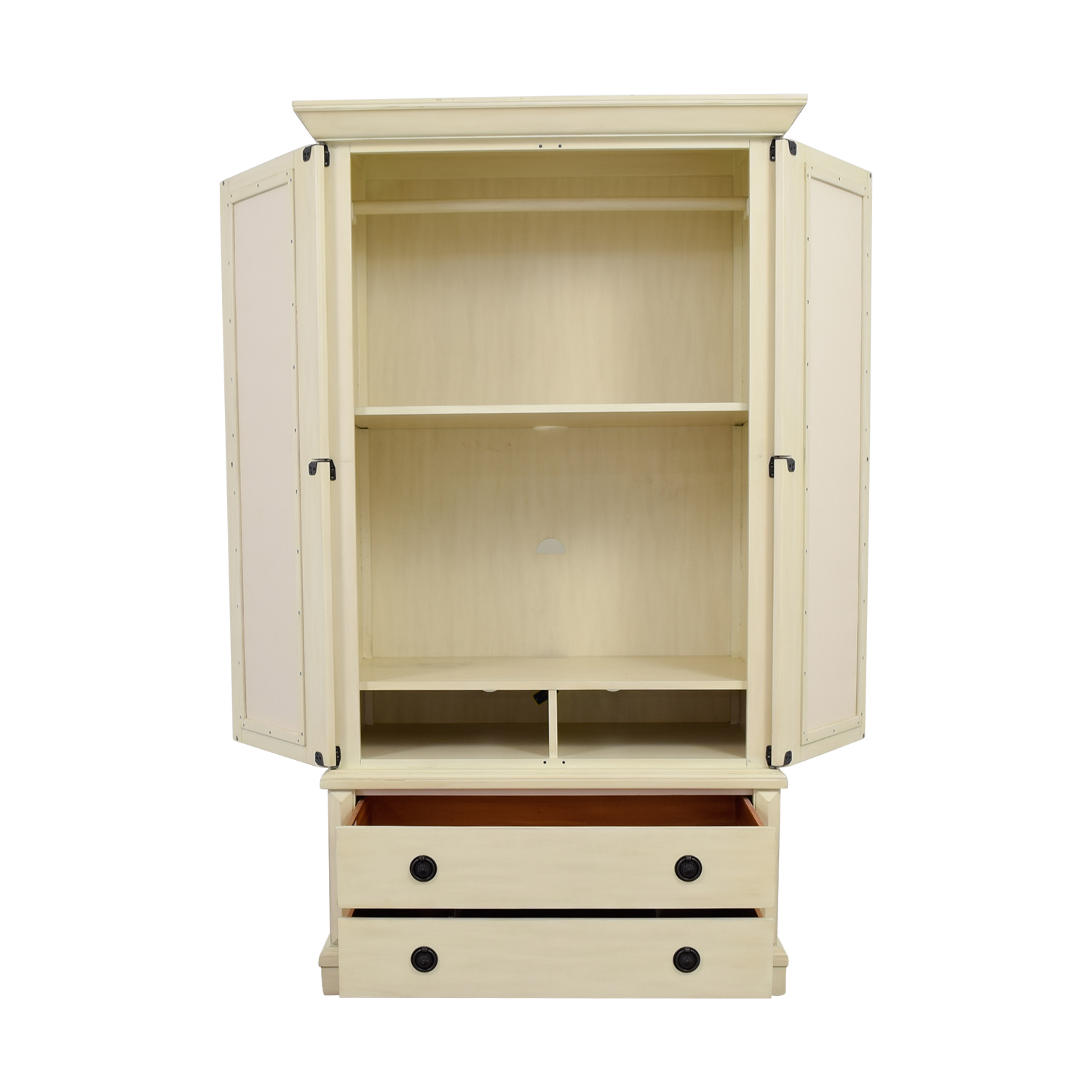 Pottery Barn Pottery Barn White Armoire nyc