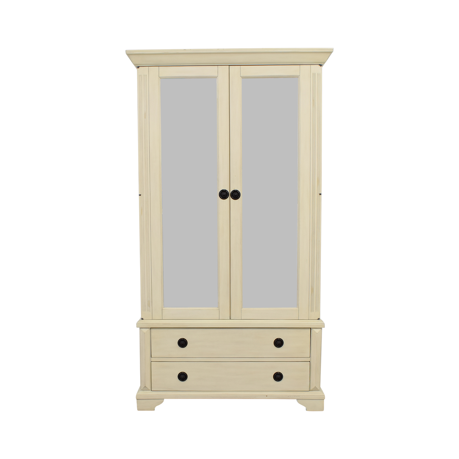 shop Pottery Barn Pottery Barn White Armoire online