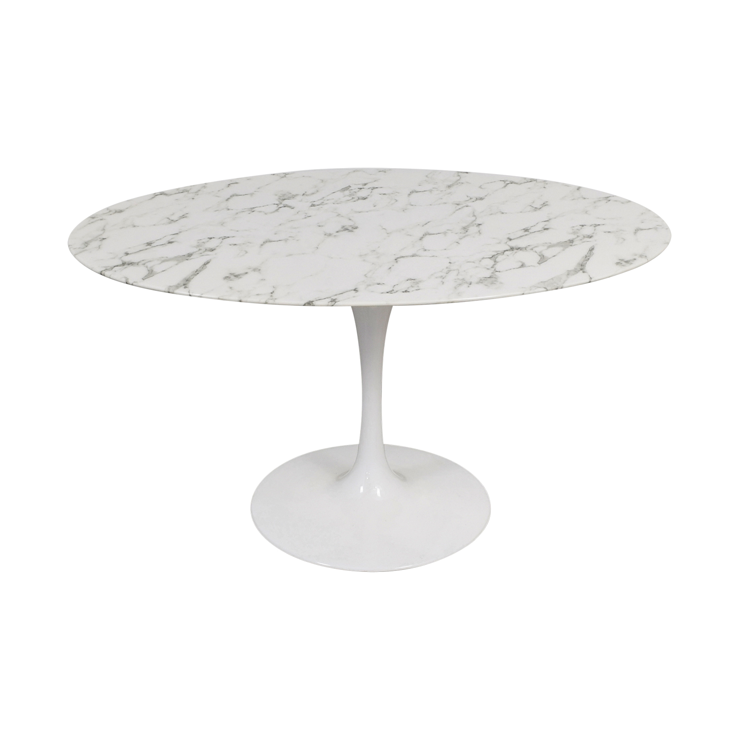 Lippa Lippa Oval White Tulip Table dimensions