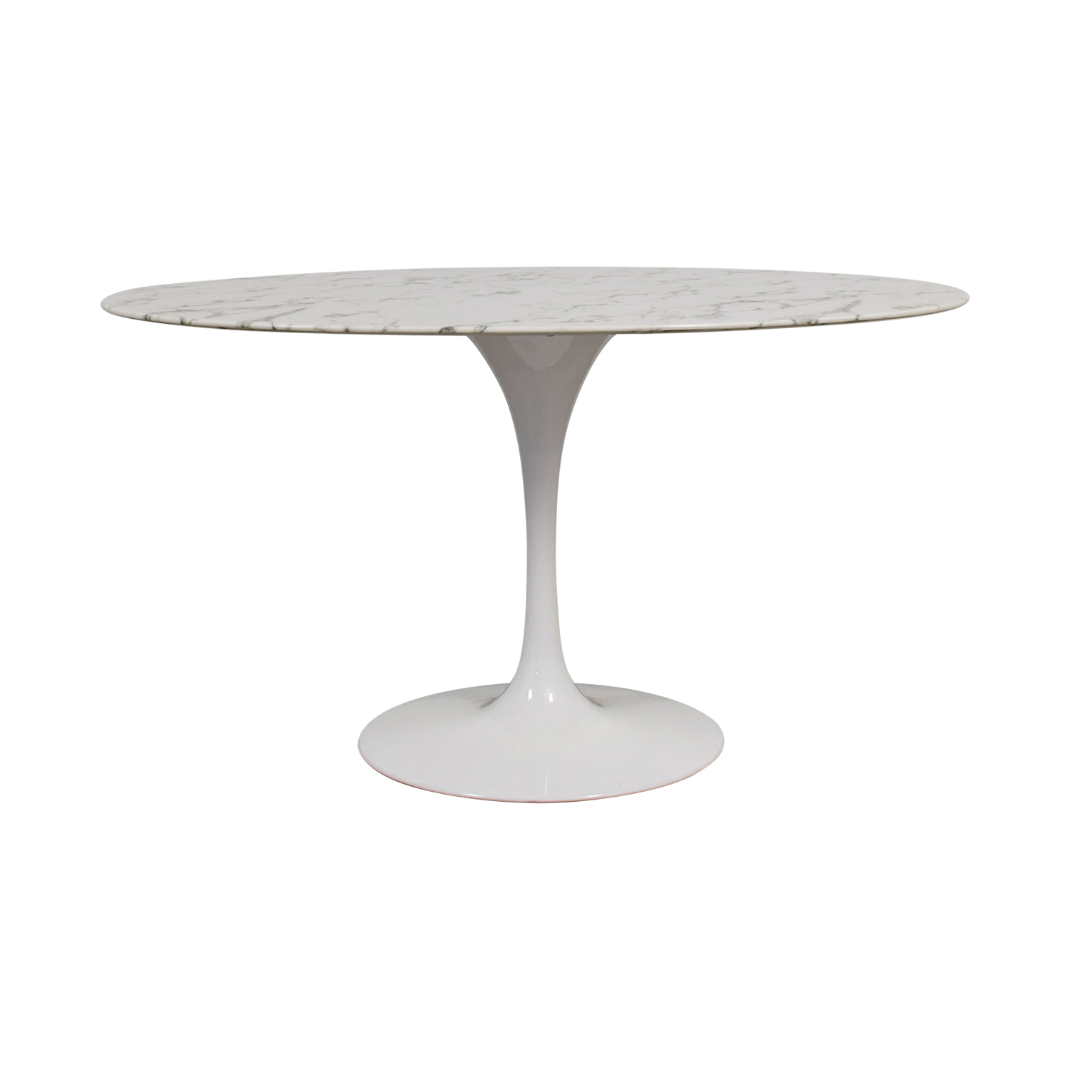 buy Lippa Oval White Tulip Table Lippa
