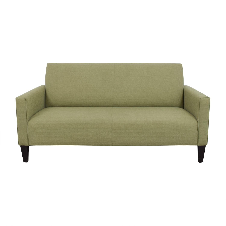 80 off crate barrel crate barrel moss green single. Black Bedroom Furniture Sets. Home Design Ideas