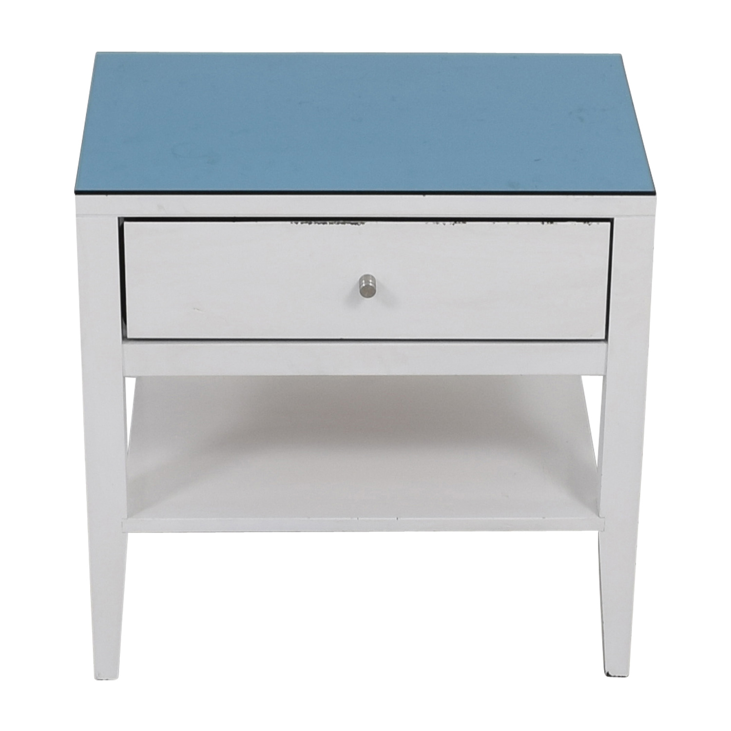 Room & Board Room & Board Calvin Blue Top White Nightstand price