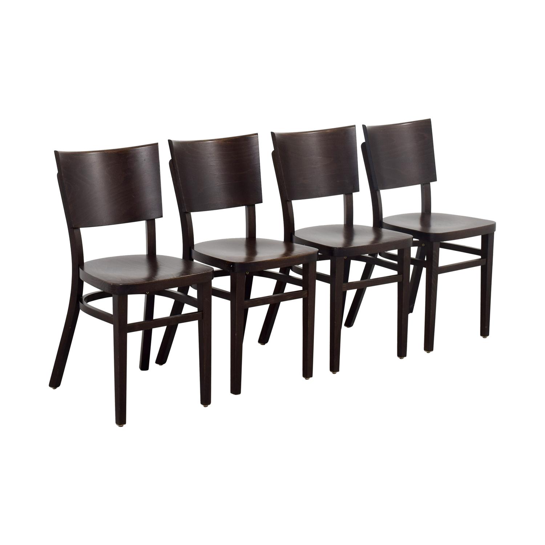 44 off design within reach design within reach kyoto brown chairs chairs - Design within reach bed frame ...