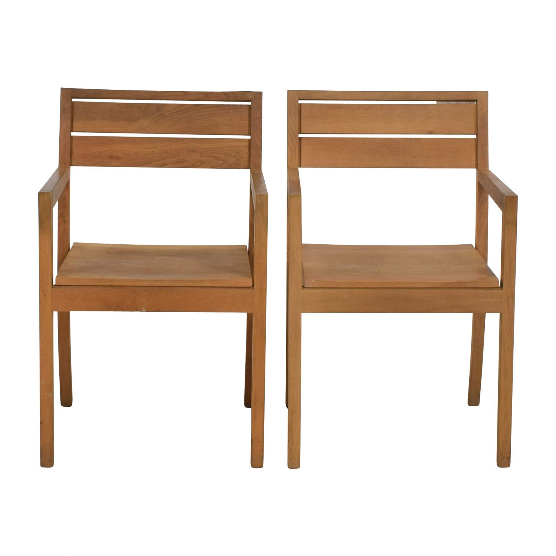 ABC Home & Carpet ABC Home Solid Oak Chairs