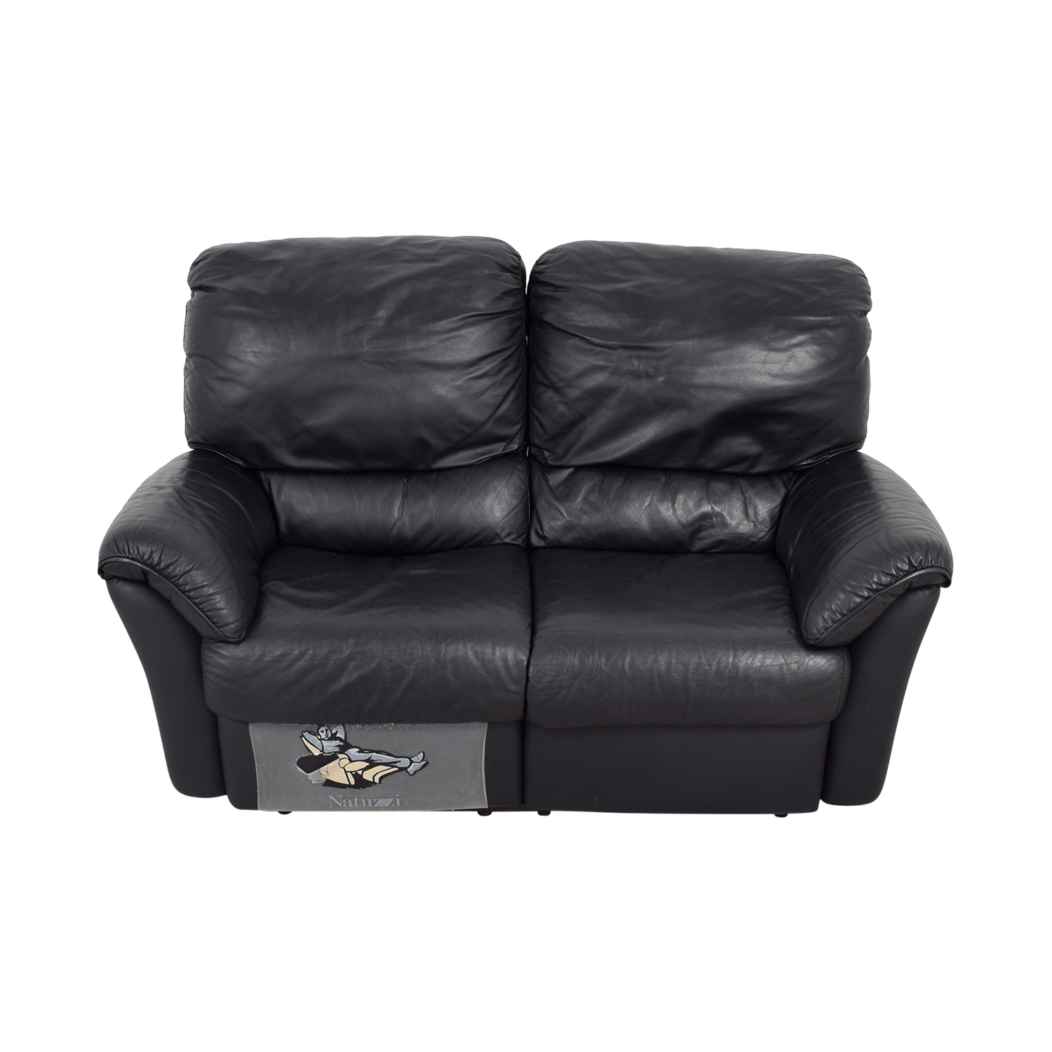 Natuzzi leather reclining sofa natuzzi editions b817 for Natuzzi leather sofa
