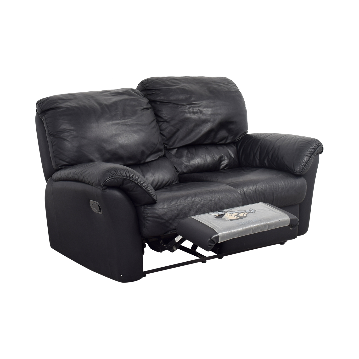 73 Off Natuzzi Natuzzi Leather Recliner Loveseat Sofas