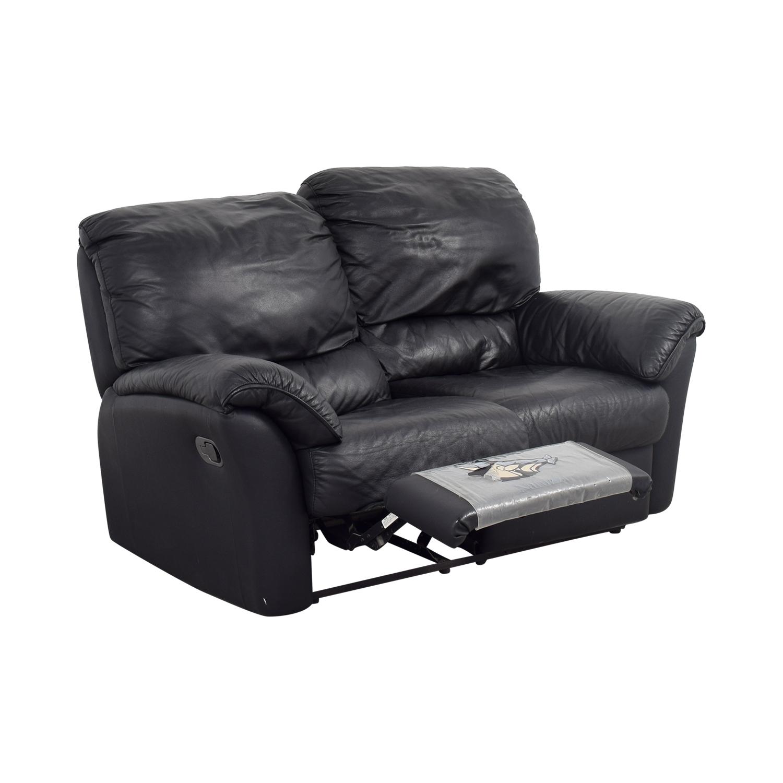 Wondrous 84 Off Natuzzi Natuzzi Leather Recliner Loveseat Sofas Inzonedesignstudio Interior Chair Design Inzonedesignstudiocom