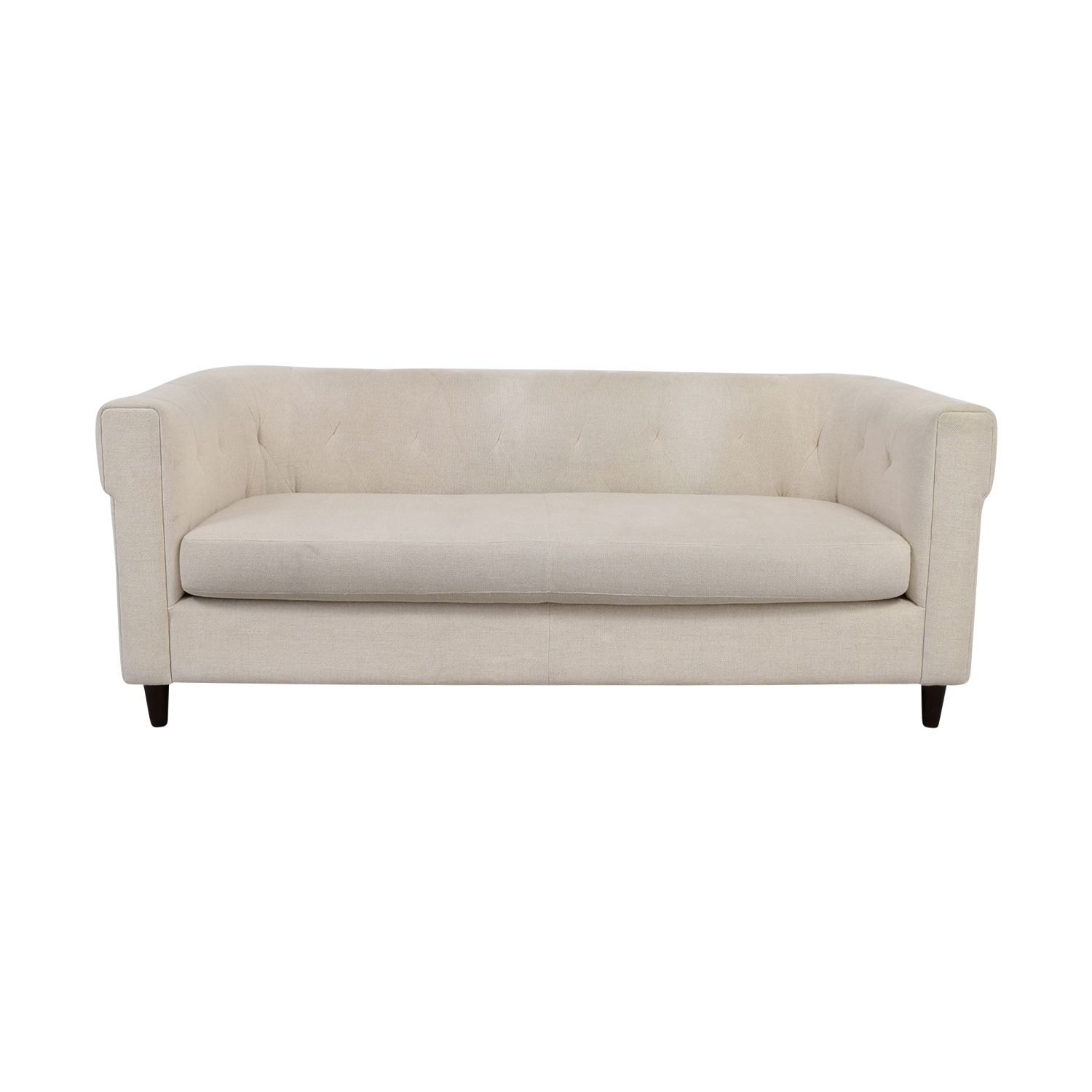 buy West Elm West Elm Chester Beige Tufted Sofa online ...