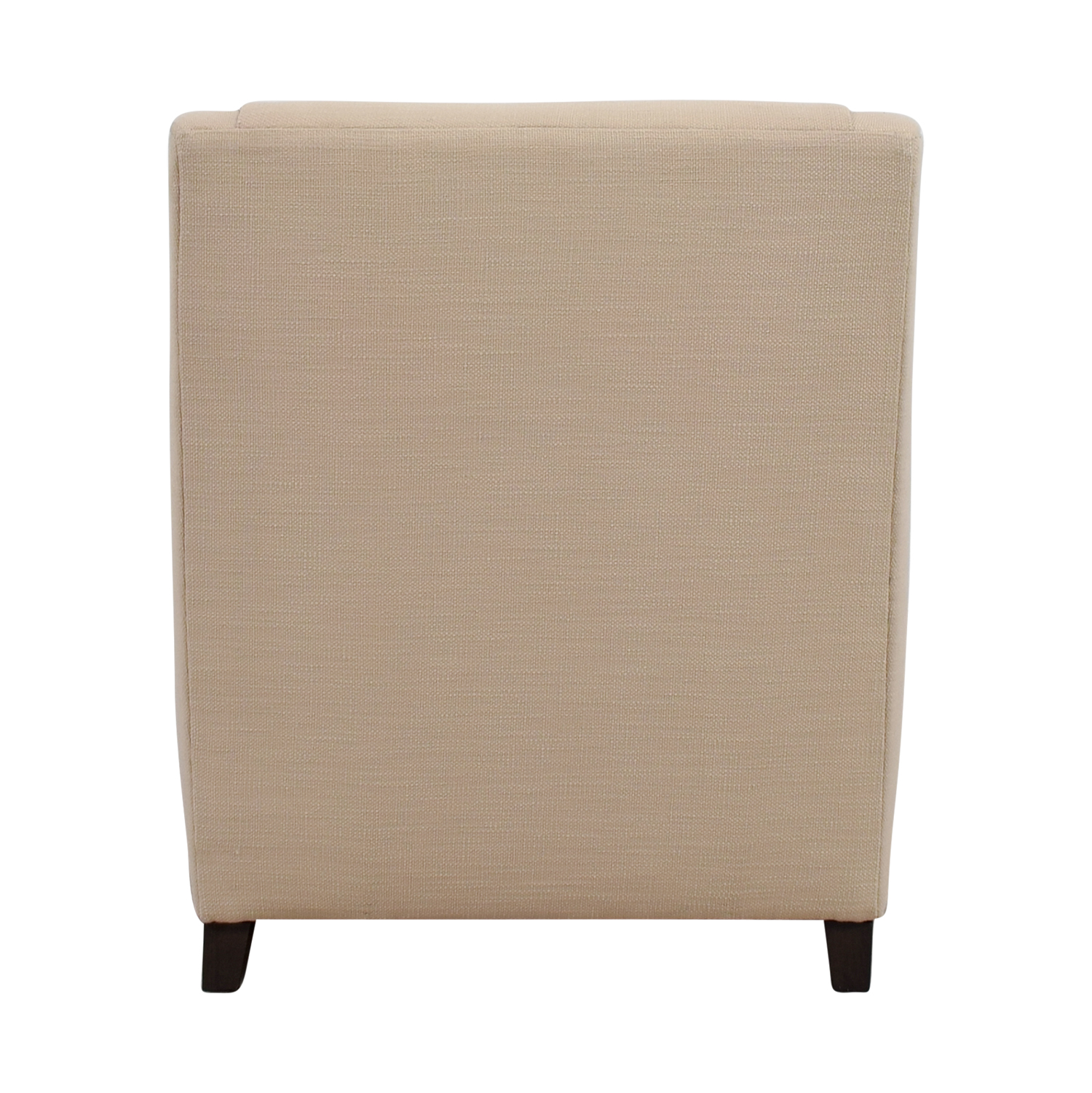 buy West Elm Sweep Beige Arm Chair West Elm Chairs