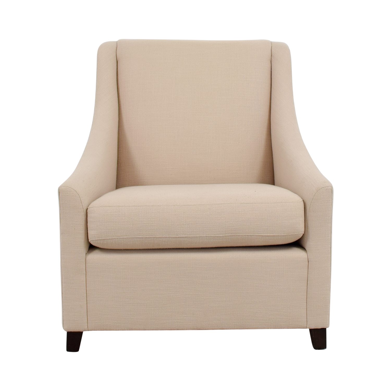 West Elm West Elm Sweep Beige Arm Chair price