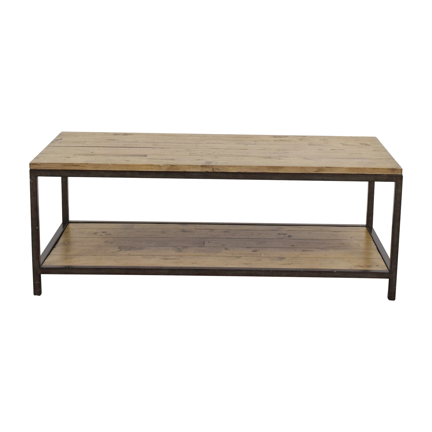 Ballards Design Ballard Designs Rustic Durham Coffee Table for sale