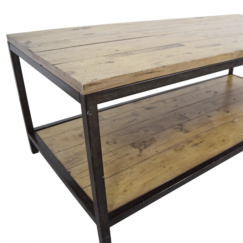 78 off ballards design ballard designs rustic durham Rustic coffee table design plans