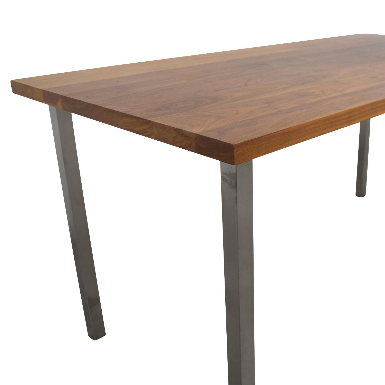 84 Off Room And Board Room Amp Board Portica Walnut Table