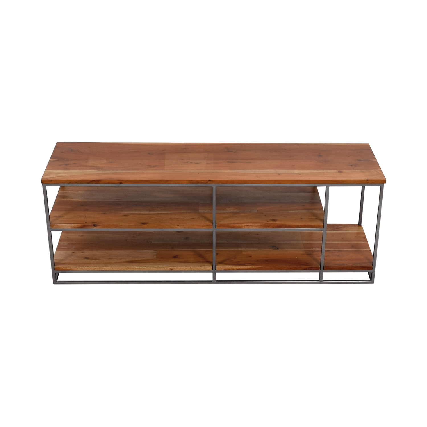 shop CB2 CB2 Wood and Chrome Credenza online