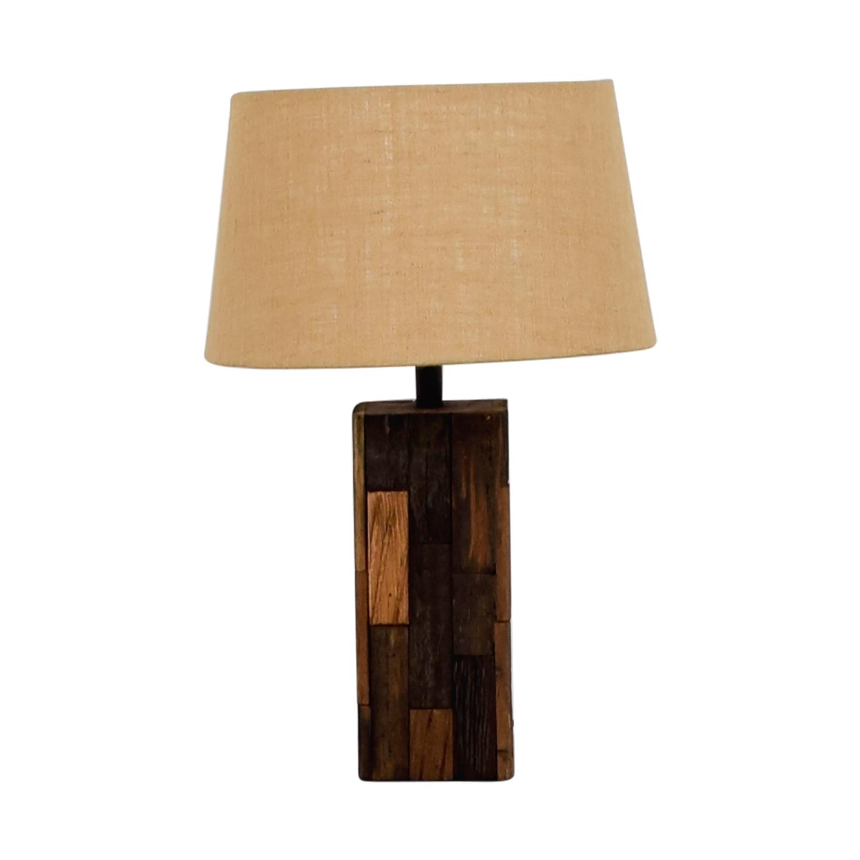 47 Off Ashley Furniture Ashley Furniture Selemah Wood Table Lamp