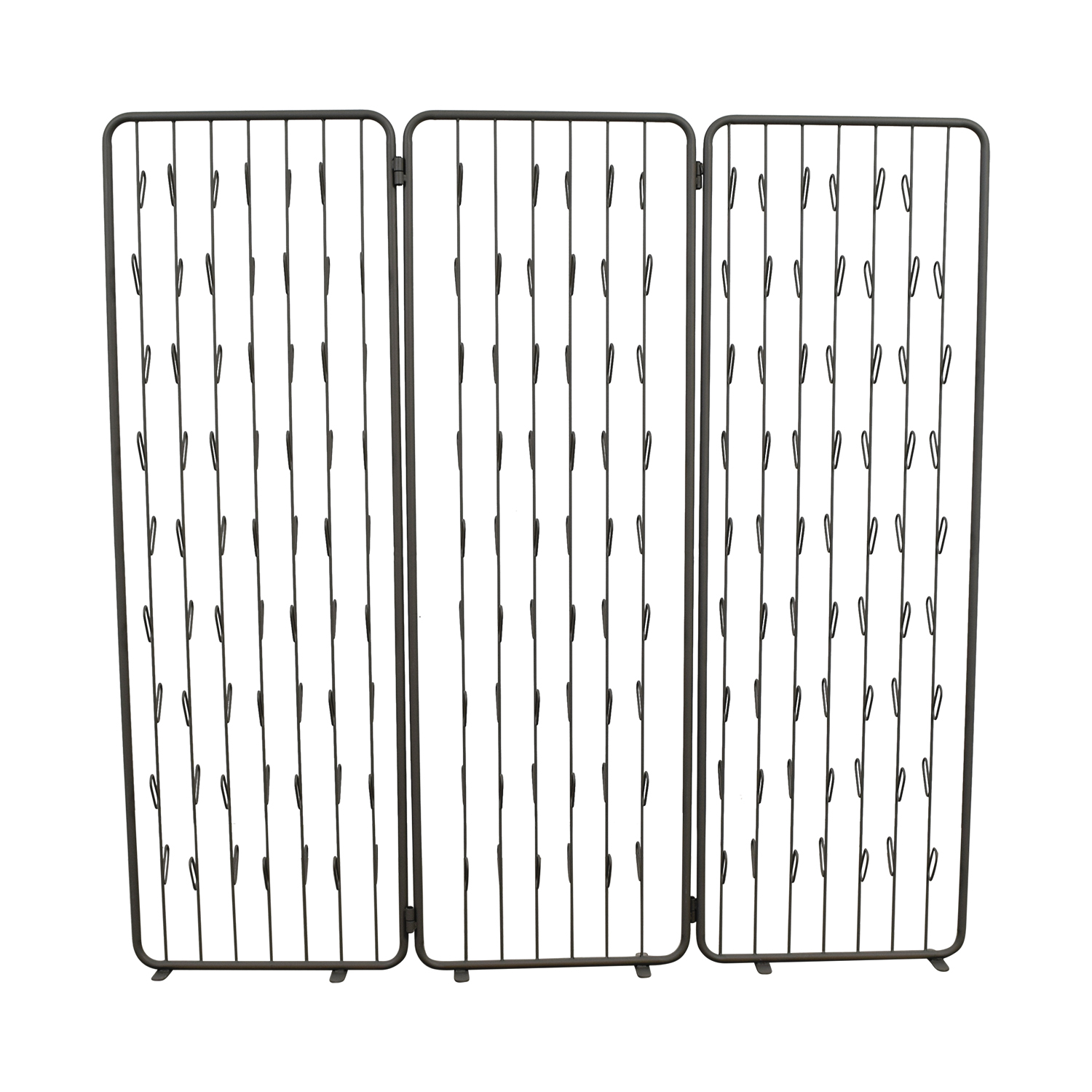 shop CB2 Adorn Grey Floor Screen CB2 Dividers