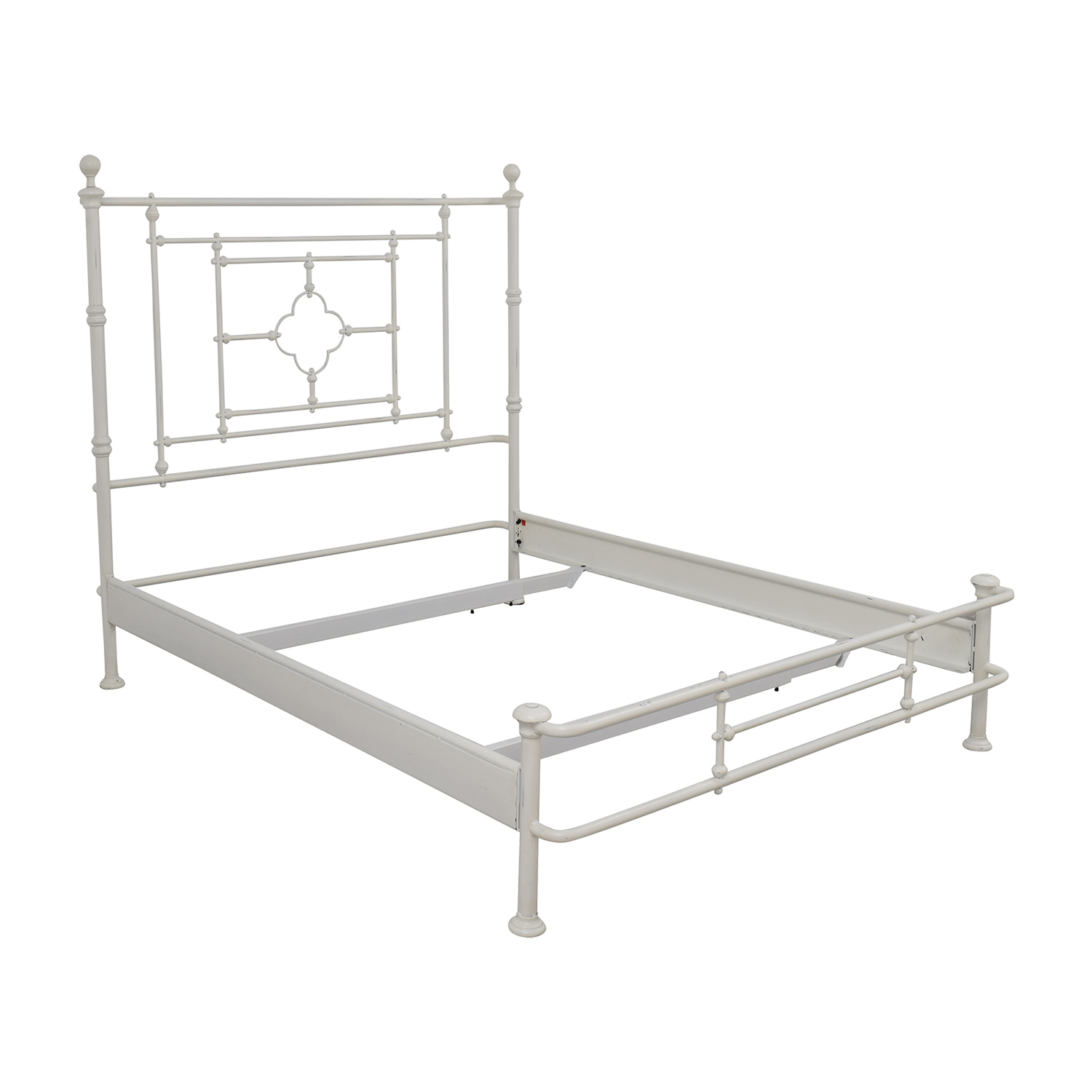 48 off restoration hardware restoration hardware white for Bed frame hangers