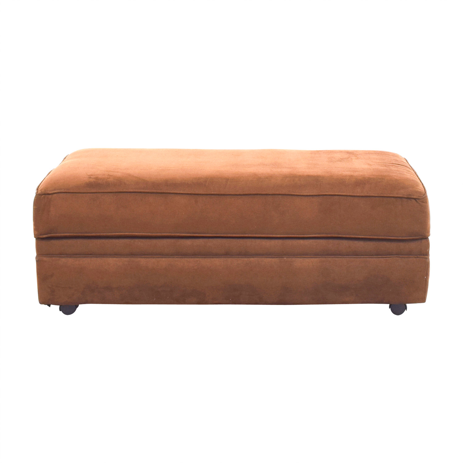 buy Chocolate Brown Ottoman Chairs