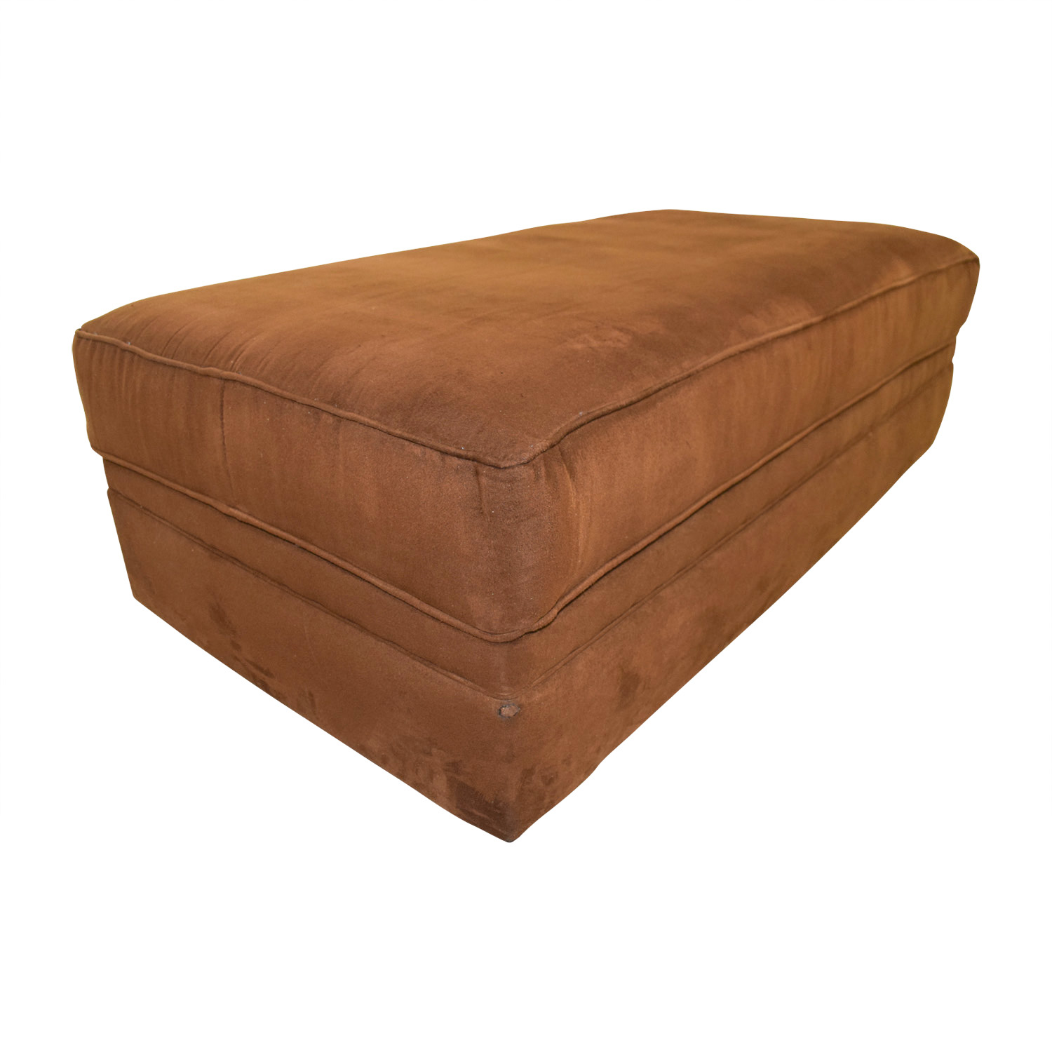Chocolate Brown Ottoman discount