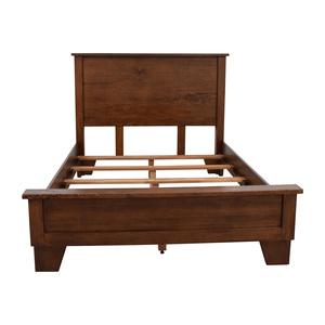 Pottery Barn Sumatra Wood Full Bed Frame sale
