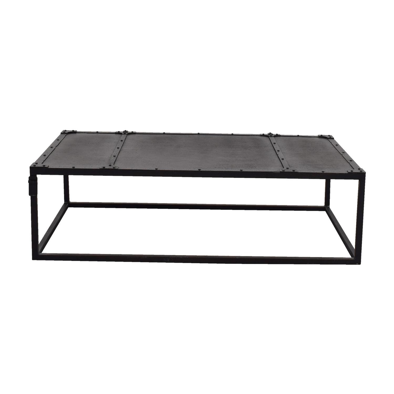 Restoration Hardware Tesoro Black Coffee Table / Tables ...