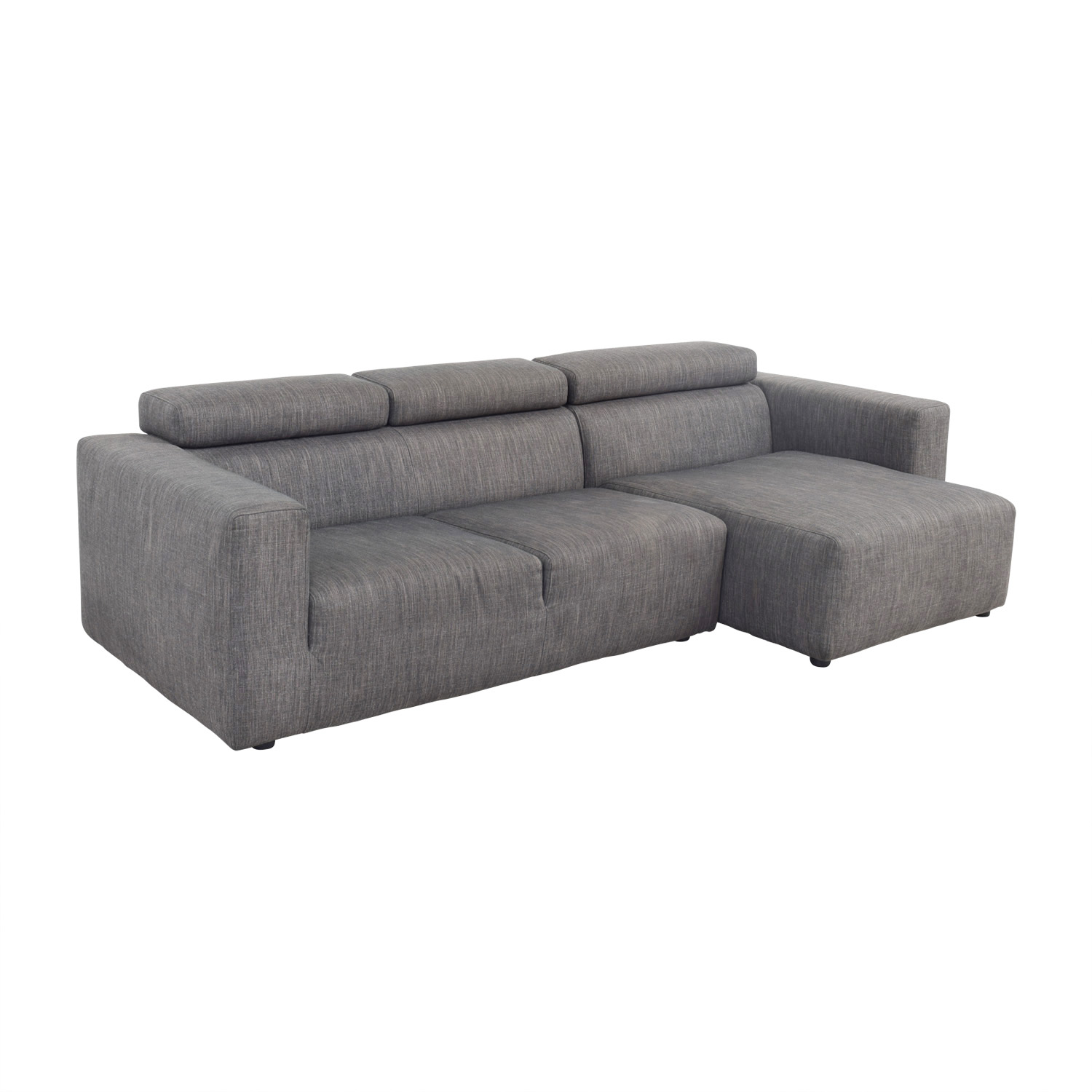 shop Jensen Lewis Jensen Lewis Grey Sectional online