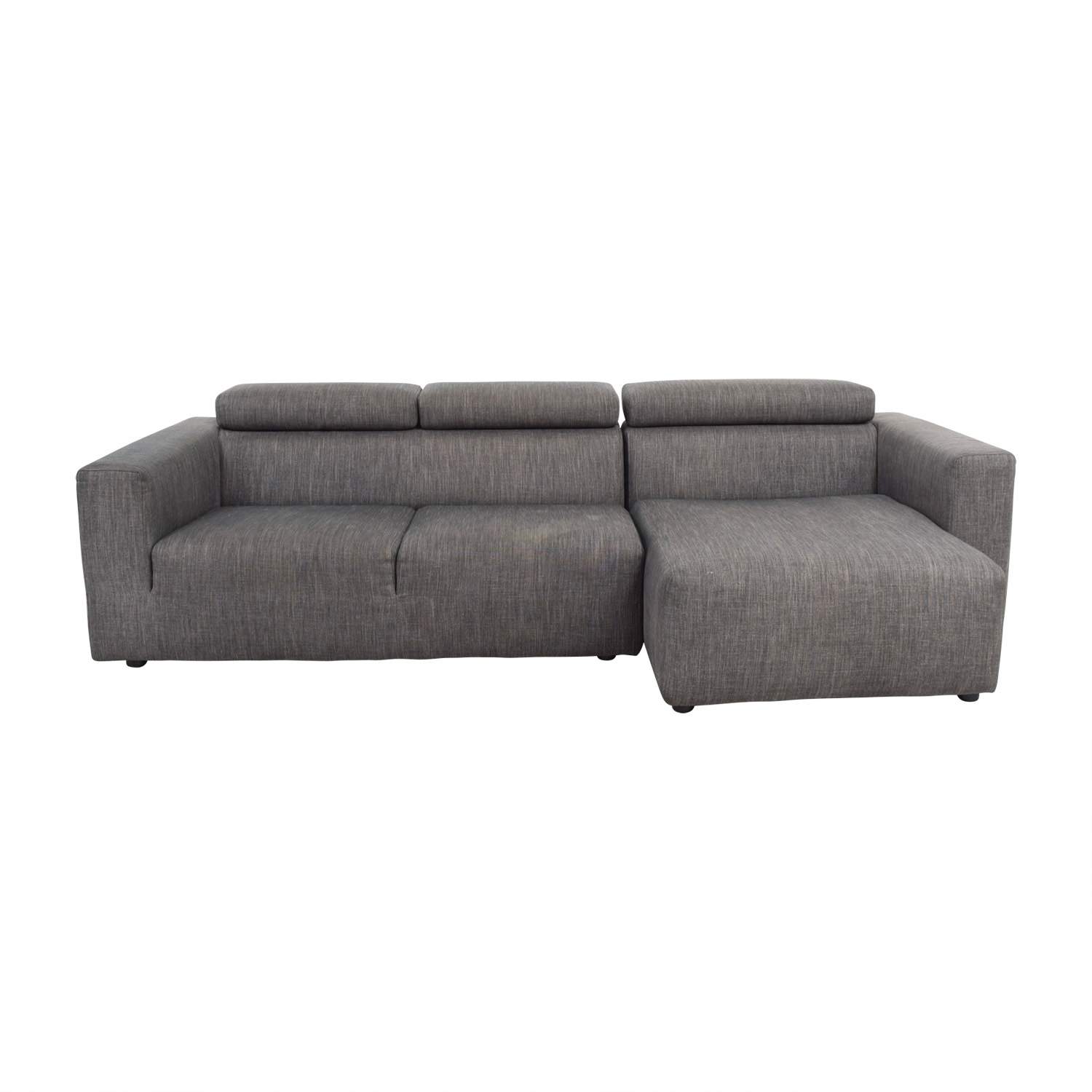 Jensen Lewis Grey Sectional / Sofas