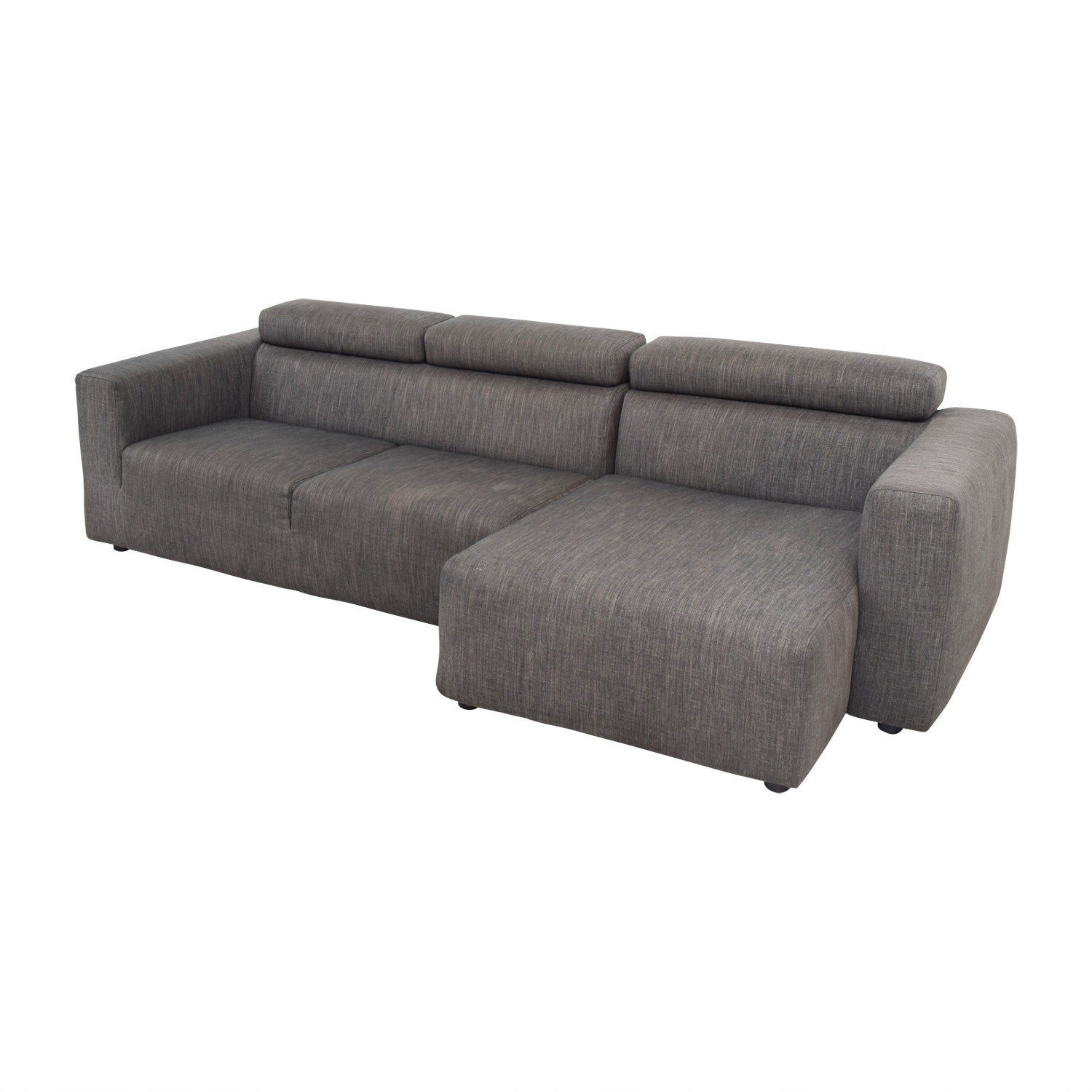 Jensen Lewis Jensen Lewis Grey Sectional second hand