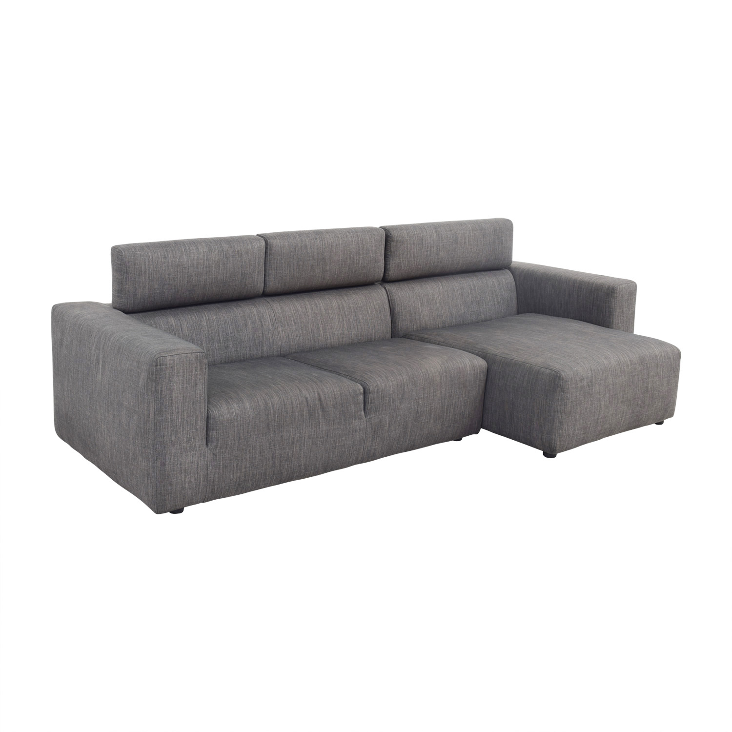 buy Jensen Lewis Grey Sectional Jensen Lewis